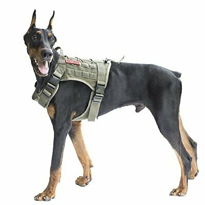 OneTigris Tactical Service Dog Vest – Water-Resistant Comfortable Military Patro