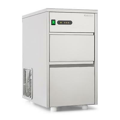 New Industrial Ice Cube Machine Powerful Ice Maker 20Kg Per Day Stainless Steel
