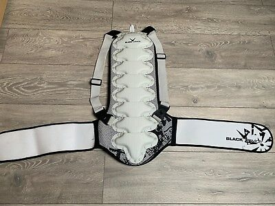 Black Crevice Back Protector - Great for Skiing / Snowboarding / Biking / ETC
