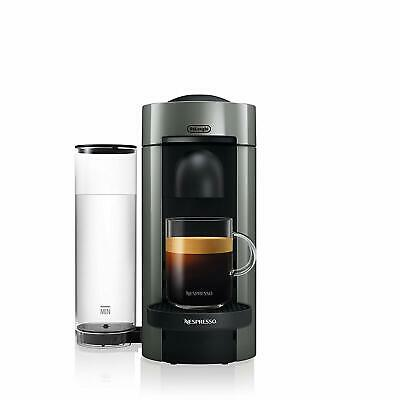 Nespresso VertuoPlus Coffee and Espresso Maker by DeLonghi, Grey