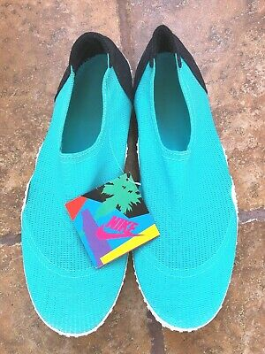 best sneakers e0474 ae58d Vintage 90 s Nike Aqua Socks-Shoes Men s Size XL Made in USA - New!