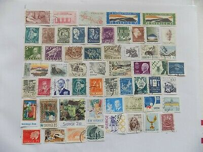 Swedish Coll'n of stamps off paper -2-23