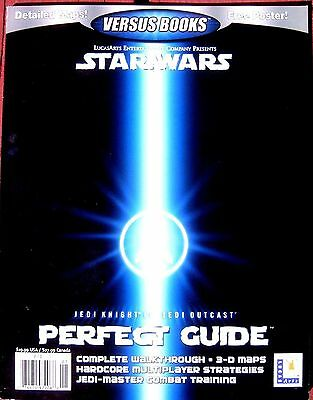 STAR WARS Jedi Knight II Outcast NEW Official PERFECT GUIDE Versus Books PC 38