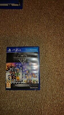 Kingdom Hearts 1.5-2.5 Remix Ps4 (case only)