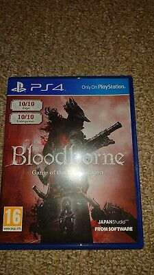 Bloodbourne GOTY ps4 (case only)