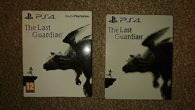 The Last Guardian Ps4 steelbook limited edition (case only)