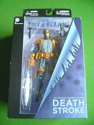 "DC Collectibles Deathstroke 6.75"" Figure New 52 Super Villains DC Comics New"