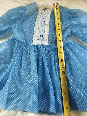 Vintage Little Girls' Dress Or Dress For Large Doll