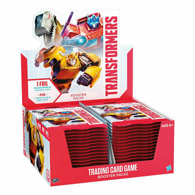 Transformers Trading Card Game (TCG) - Factory Sealed Booster Box (30 packs)