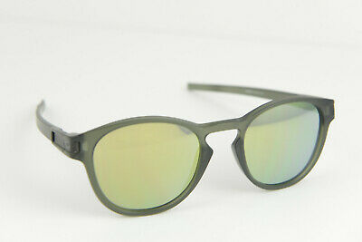 369f99d8f4 OAKLEY LATCH OO9265-05 Matte Olive Ink Emerald Iridium Sunglasses ...