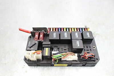 2003-2006 range rover hse oem rear trunk junction relay fuse box