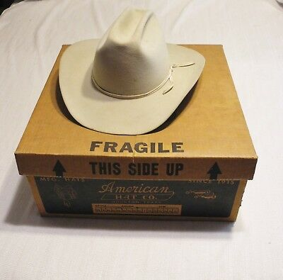 d555ca04536 ... best american hat company beaver 7x quality grey cowboy hat houston tx  size 6 7 8
