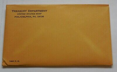 1964 US PROOF Set - Sealed envelope from Mint Box