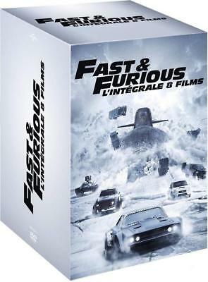 DVD  FAST AND FURIOUS Intégrale des 8 films, coffret NEUF - FRANCE