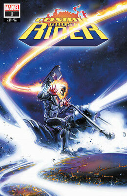 COSMIC GHOST RIDER #1 Clayton Crain Trade Dress Variant Marvel 1st Print NM