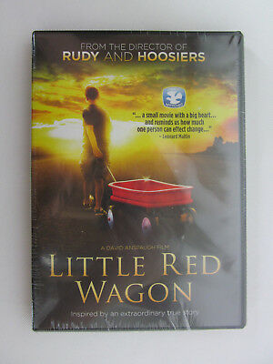 Little Red Wagon (DVD, 2013) Family Dove Approved Brand New Factory sealed