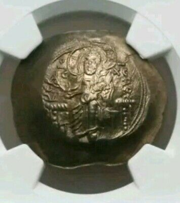 Byzantine Empire Alexius III NGC MS 5/4 Ancient Gold Coin