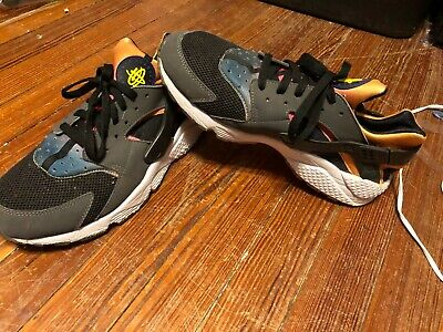 28055ef4eed5 NIKE - AIR Huarache Run SD Rainbow - 724764-005 - Black - Men s Size ...