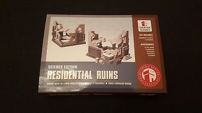 Spartan Scenics RESIDENTIAL RUINS Halo Ground Command