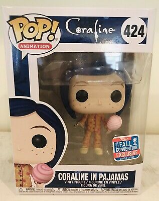 Funko Pop! Animation   Coraline In Pajamas [Fall Convention] 2018 Shared Exclusi