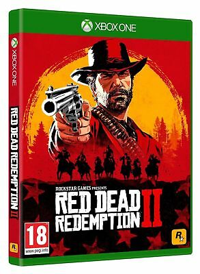 Red Dead Redemption 2 xbox one *Brand New Sealed*