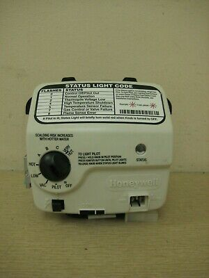 AO Smith Honeywell WV8840B1109 321166-000 Water Heater Gas Valve Thermostat Used