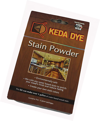 Wood Dye - Aniline 5 Color Kit - Stain