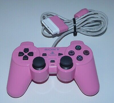 Official Sony PlayStation 2 / PS2 Pink DualShock 2 Analog Controller
