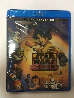 Star Wars Rebels: Complete Season One [New Blu-ray] 2 Pack