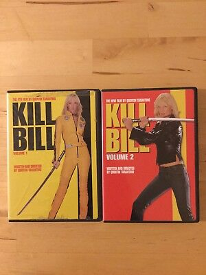 Kill Bill Volume 1 & 2 (DVD)-Uma Thurman