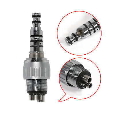 Dental 4-Hole Quick Coupler Coupling fit LED E-generator /High Speed Handpiece