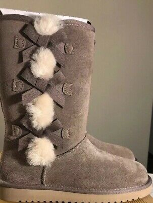 ad47ad9b6a3b Koolaburra by UGG Women s Victoria Tall Fashion Boot Cinder Sz 8 1015875 New