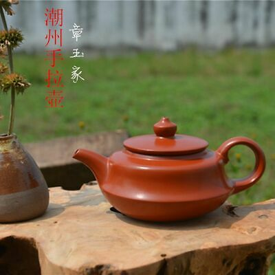 Chinese Old Yixing Purple Sands Hand-Made*亭亭玉立*teapot