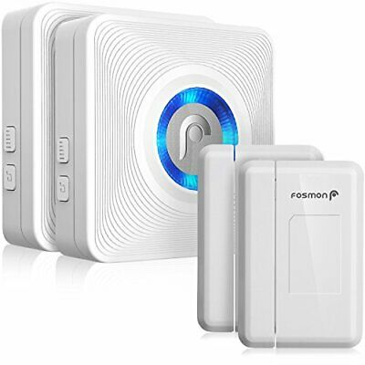 Fosmon WaveLink 51036HOMUS Wireless Door Open Chime (120M/400FT | 52 Tunes | 4 V