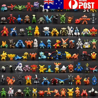 Colorful NEW 144pcs Pokemon Toy Set Mini Action Figures Monster Children Gifts