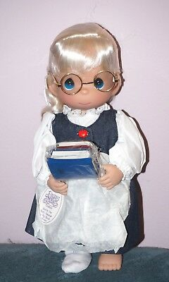 Precious Moments You're the best Teacher in my Book (Blonde) doll 12 inch
