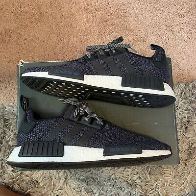 138cffdc5 Adidas NMD R1 Champs Exclusive Black Grey White Size 12