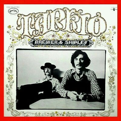 BREWER & SHIPLEY (EX) ● TARKIO ROAD LP One Toke Over The Line 1972 Jerry Garcia