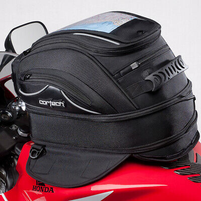 Cortech Super 2.0 18-Liter Magnetic Mount Motorcycle Tank Bag