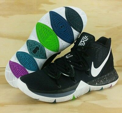 d0a7c1b61d3 Nike Kyrie 5 Black Magic Black White Multi Color Ao2918-901 Men s Size 11.5