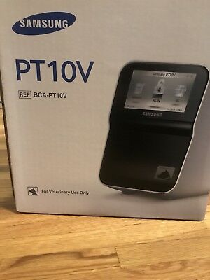 Samsung PT10V SCIL Veterinary Chemistry Machine New In Box
