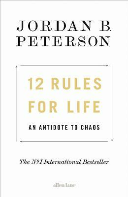 12 Rules For Life: An Antidote To Chaos 2018 Hardcover Brand New High Quality UK