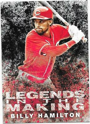 2018 Topps Update Legends in the Making Black SP Billy Hamilton #13 - Reds