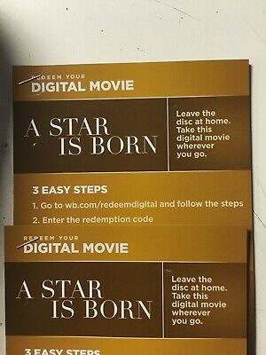 a star is born Canadian Digital Code Only