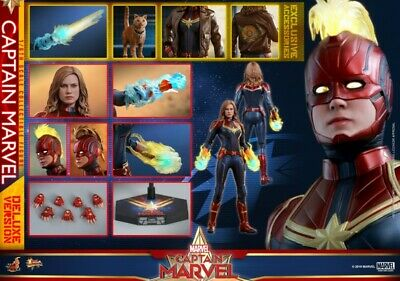 Hot Toys MMS522 Captain Marvel Brie Larson 1/6 Figure Model Collectible