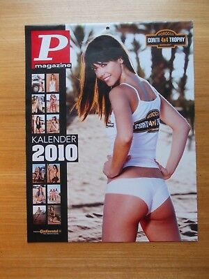 Kalender P Pin Up Conti 4X4 Trophy Morocco  2010