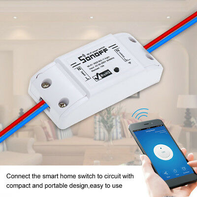 Sonoff Basic Smart Home WiFi Wireless Switch Module For IOS Android APP L7R8