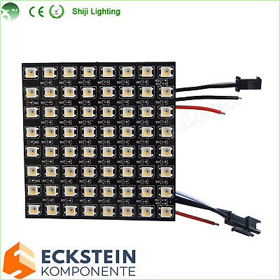 8cmx8cm LED Matrix SMD 5050 RGBW Natural White 4500K SK6812 DC5V LED1018