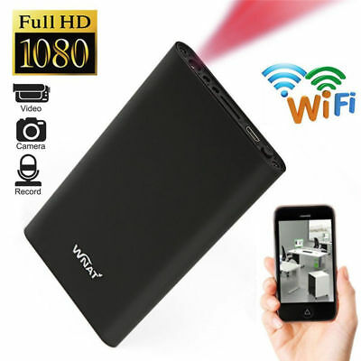 Mini WIFI HD 1080P Spy Hidden IP Camera Power Bank Motion Detection Recorder FR