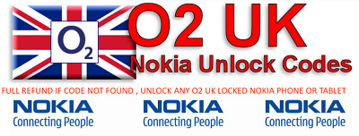 Unlock Code For O2 UK Nokia Lumia 530 635 625 735 800 830 900 930 1020